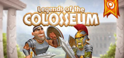 Paf mängustuudio uus mäng Legens of the Colosseum ja tasuta spinnid