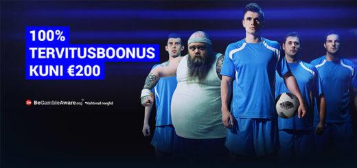 TonyBet Eesti spordiboonus summas kuni €200
