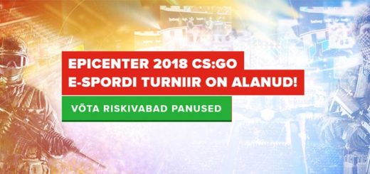 Epicenter 2018 CS GO e-spordi turniir - riskivabad panused Optibet'i kihlveokontoris