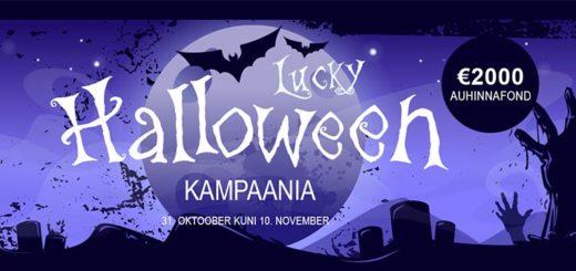 GrandX Online Casino Lucky Halloween turniiri auhinnafondis on 2000 eurot