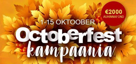 Oktoberfest 2018 kampaania GrandX Online Casino's