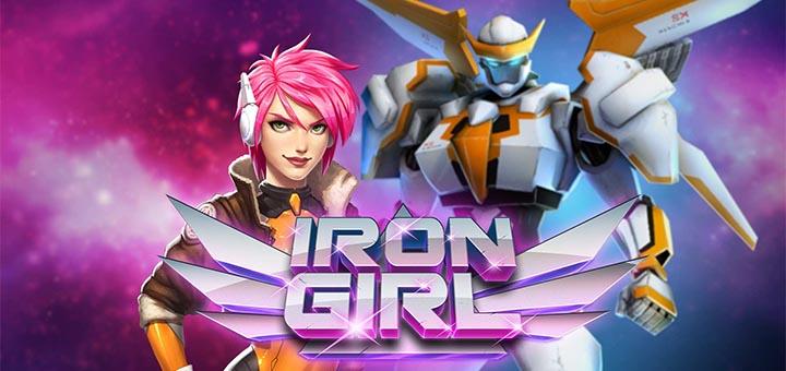 Paf kasiino Iron Girl sloti ülesanded - tasuta spinnid ja €10 000 rahaloos