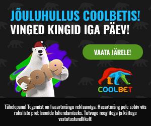 Coolbet'i jõulukalendris ootavad iga päev uued pakkumised