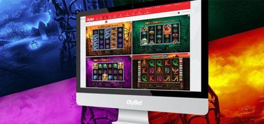 Mängi OlyBet kasiinos Novomatic slotimänge ja teeni kuni €200 lisaraha