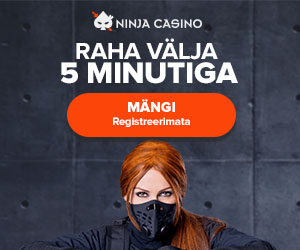 Ninja Casino Eesti - esimene kiirmaksetega kasiino Eestis