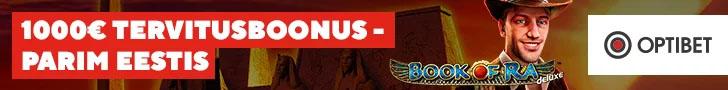 Optibet Kasiinos uutele liitujatele €1000 väärtuses kasiinoboonuseid