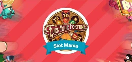 Paf Slot Mania - mängi slotimängu Turn Your Fortune ja osaled 10 x €100 loosis