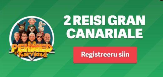 Paf loosib uute liitujate vahel välja 2 reisipaketti Gran Canariale