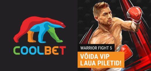 Warrior Fight 5 - võida tasuta VIP piletid neljale