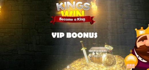 Kingswin kasiino eriline VIP boonus