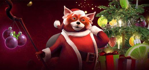Ninja Casino jõululoos 2018 - mängi Netent mängudel ja osaled iga nädal €20 000 rahaloosis