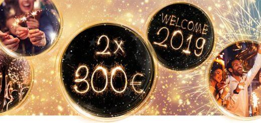 OlyBet kasiino aastavahetuse pakkumine - teeni kuni €600 pärisraha