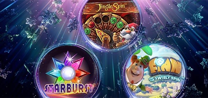 OlyBet kasiino jõulukalender 2018 - iga päev pärisraha võitudega tasuta spinnid
