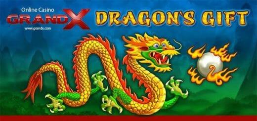 GrandX Online Casino uues mängus Dragon's Gift iga päev tasuta spinnid