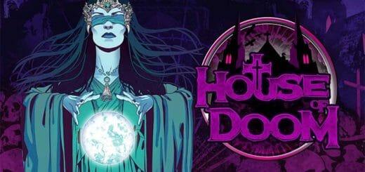 House of Doom Mystery auhinnad Paf kasiinos - tasuta spinnid, pärisraha, kitarr ja €1000 kinkekott