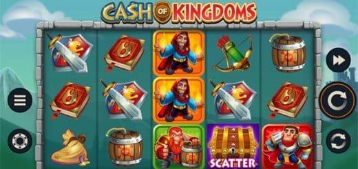 Kingswin kasiinos liitumisel koheselt ilma sissemakseta tasuta spinnid mängus Cash of Kingdoms