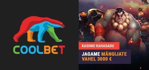Yggdrasil mängude €3000 rahasadu Coolbet kasiinos