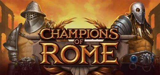 Champions of Rome €3500 rahasadu Coolbet kasiinos