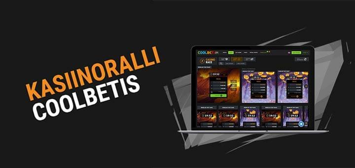Coolbet kasiinoralli - iga päev tasuta spinnid, rahalised võidud ja eriauhinnad