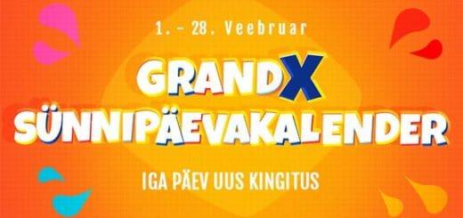 GrandX Online Casino sünnipäevakalender - Sind ootab iga päev uus kingitus