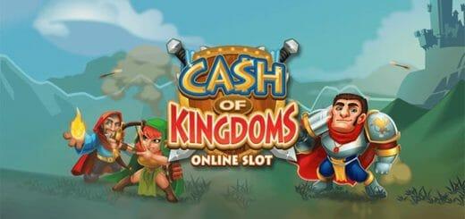 Kingswin kasiinos igal kolmapäeval boonuskoodi kasutamisel tasuta spinnid mängus Cash of Kingdoms