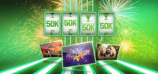 Märtsikuu slotifestivali õnneliku keerutuse turniirid Unibet kasiinos