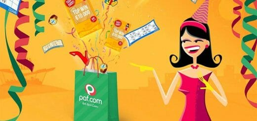 Naistepäeva kampaania Paf'is - saa naistepäeva kingituseks Paf Cash & Carry kinkekott