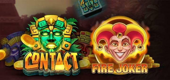 Ninja Casino müstilised auhinnad slotimängudes Contact & Fire Joker