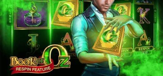 Ninja Casino nädalavahetuse tasuta spinnid slotimängus Book of Oz