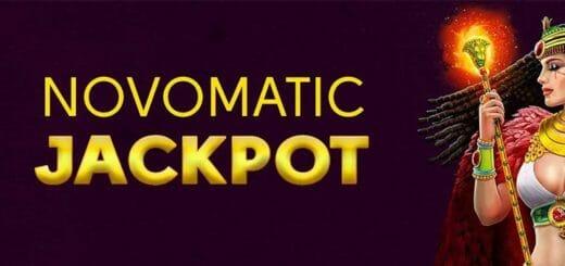 OlyBet kasiinos uued Novomatic Jackpot mängud + kuni €1000 väärtuses cashback'i