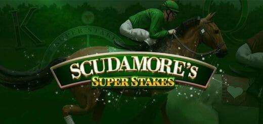 Optibet kasiino Scudamore's Super Stakes boonuskood - boonus ja tasuta spinnid