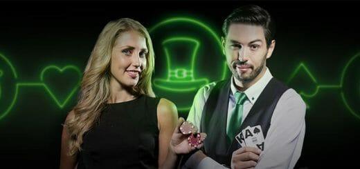 Püha Patricku päeva Blackjacki väljakutse Unibet live kasiinos - võida kuni €3500 lisaraha