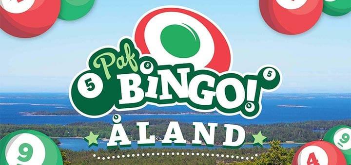 Paf Bingo 2019 ahvenamaal - võida bingoreis kahele, kus jagatakse ära €10 000 väärtuses pärisraha