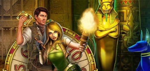 Seiklus Egiptuses - Optibet kasiinos igal nädalavahetusel tasuta VIP spinnid ja cashback