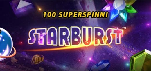 Starburst tasuta superspinnid Ninja kasiinos