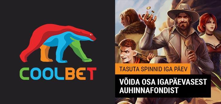 Coolbet kasiinos iga päev tasuta spinnid slotimängus Dead or Alive 2