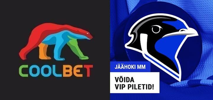 Coolbet loosib välja VIP piletid Eesti koondise Jäähoki MM mängudele