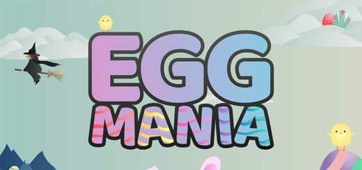 Lihavõtted 2019 mänguportaalis Paf - Egg Mania kampaanias iga päev tasuta spinnid, pärisraha ja eripakkumised