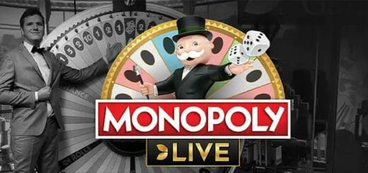 Monopoly Live kasiinomäng - proovi ja võida osa €30 000 auhinnafondist