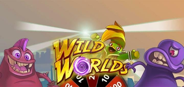 Paf - iga päev tasuta keerutused kasiinomängus Wild Worlds ja 10 000 euro loos