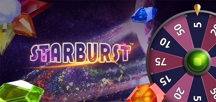 Starburst Superspinnid Ninja kasiinos