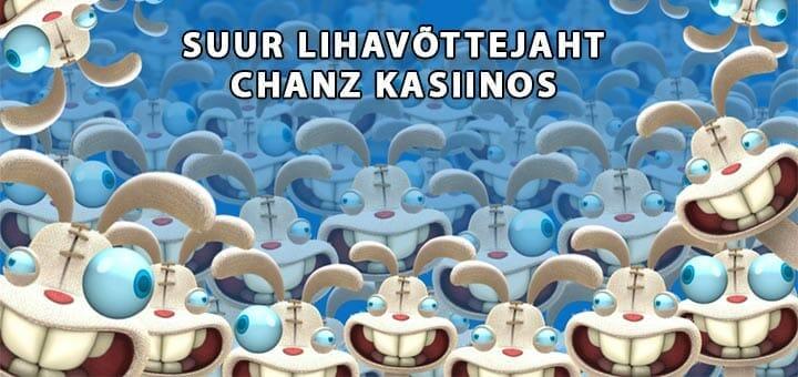 Suur lihavõttejaht Chanz kasiinos - iga päev tasuta spinnid ja lisaks €1000 loos