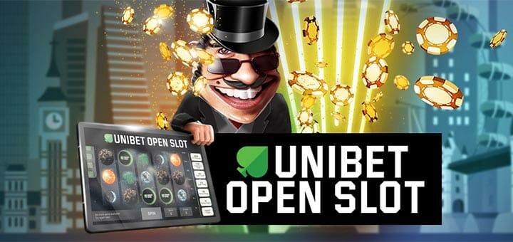 Unibet Open Slot - võta tasuta spinnid ja võida Unibet Open London pokkeripakett