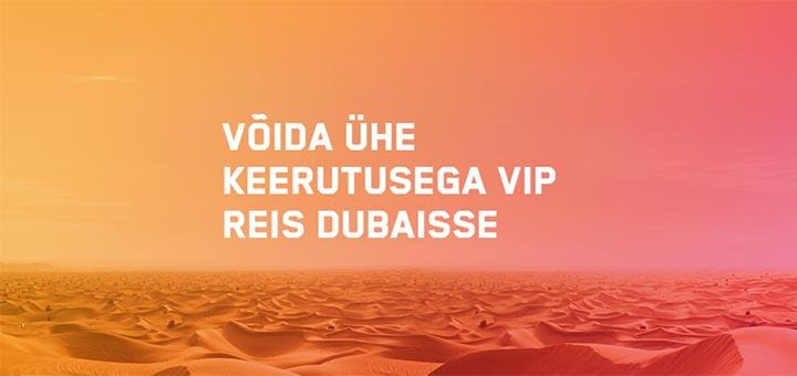 Võida Maria Casino slotimängude turniiril ühe keerutusega €10 000 VIP reis Dubaisse