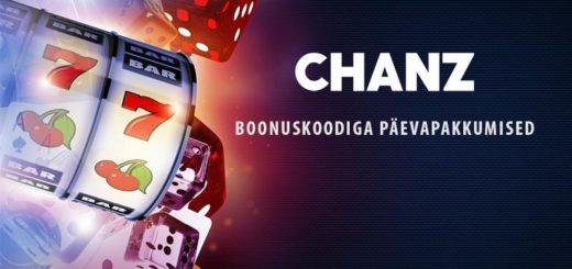 Chanz Casino boonuskoodiga päevapakkumised