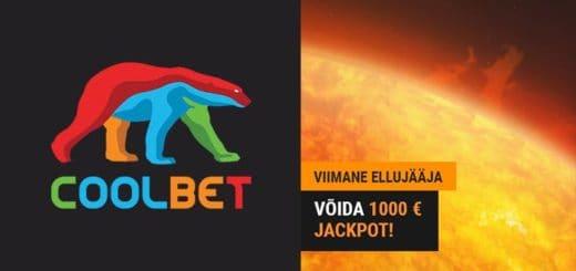 Coolbet kasiinovõistlus Viimane Ellujääja - võida €1000 jackpot + iga päev tasuta spinnid