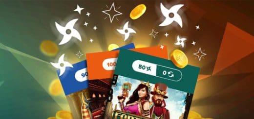 Ninja Casino aarded - iga päev uued boonused ja tasuta spinnid