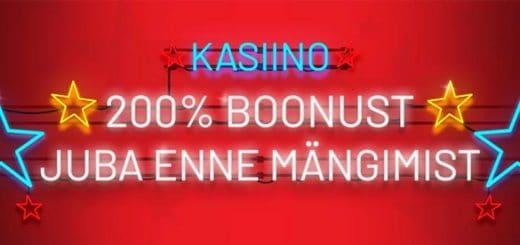 OlyBet kasiino promokood CAS200 annab 200% boonuse - kolmekordistame Sinu sissemakse