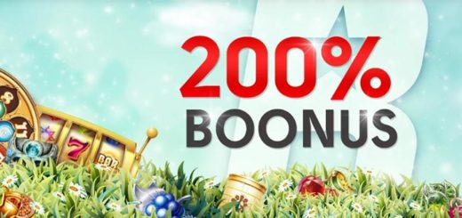 Olybet promokood annab piiratud aja jooksul 200% suuruse kasiinoboonuse
