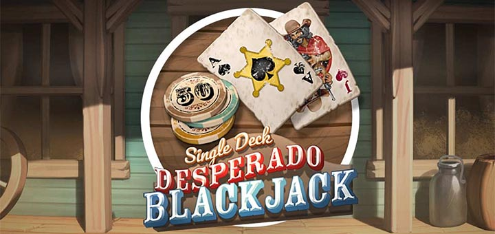 Paf'i uues mängus Desperado Blackjack kõigile tasuta mänguvoorud